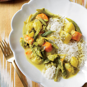 Food & Wine: Vegetarian Curry