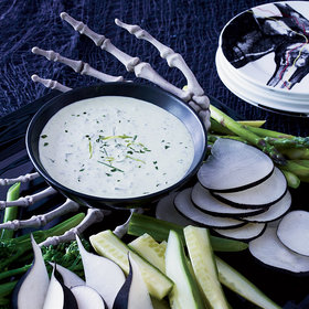 Food & Wine: Green Goddess Dip with Crudités