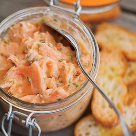 Food & Wine: Salmon Rillettes