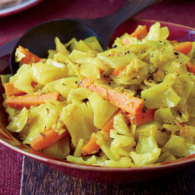 Food & Wine: Sautéed Cabbage and Carrots with Turmeric