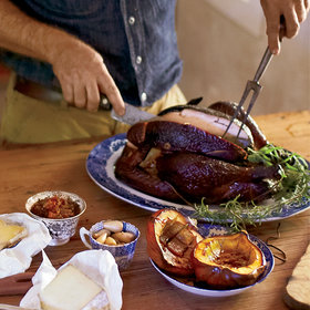 Food & Wine: Wood-Smoked Turkey