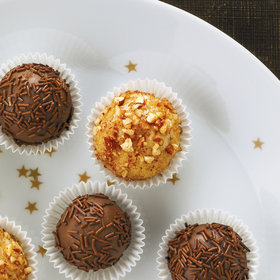 Food & Wine: Brazilian Pecan-Cinnamon Truffles