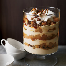 Food & Wine: Caramel-Pear-Cheesecake Trifle