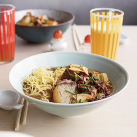 Food & Wine: Oxtail Soup with Daikon and Ramen Noodles