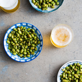 Food & Wine: Roasted Edamame Snacks