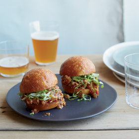 Food & Wine: Asian Sloppy Joe Sliders