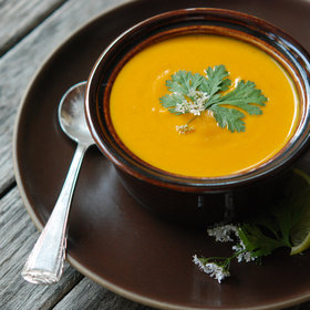 Food & Wine: Cream of Carrot Soup with Ginger and Curry