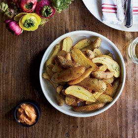 Food & Wine: Fingerling Papas Bravas with Smoky Aioli
