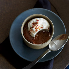 Food & Wine: Mayan Chocolate Pudding