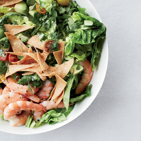 Food & Wine: Mexican Shrimp-and-Avocado Salad with Tortilla Chips