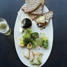 Food & Wine: Smoked Sturgeon with Caviar and Everything Bagel Crumbs