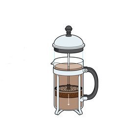 Food & Wine: French Press Brewed Coffee
