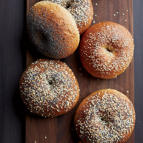 Food & Wine: Homemade Bagels
