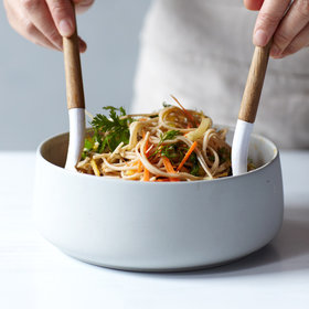 Food & Wine: Spicy Soba Noodle Salad with Thai-Style Peanut Dressing