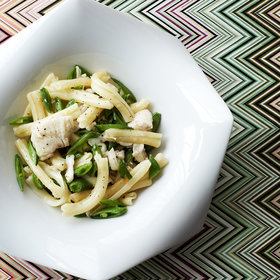Food & Wine: Casarecce with Spicy Skate and Snap Peas