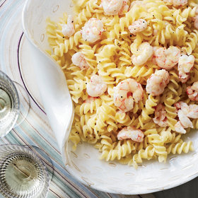 Food & Wine: Fusilli with Shrimp and Lemon Butter