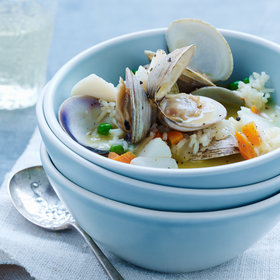 Food & Wine: Cod-and-Clam Avgolemono Stew