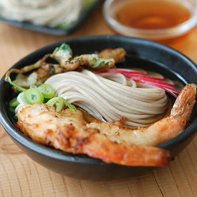 Food & Wine: Soba Noodles with Hot Broth and Shrimp Tempura