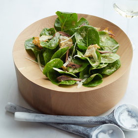 Food & Wine: Creamy Caesar Salad with Torn Croutons