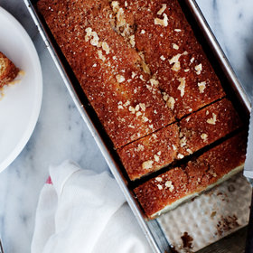 Food & Wine: Gingerbread Pear Loaf Cake