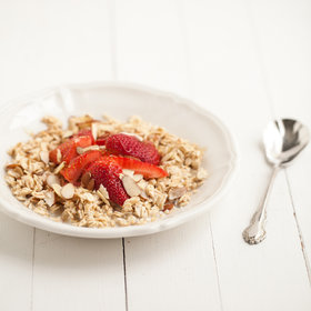 Food & Wine: No-Cook Overnight Oats with Strawberries