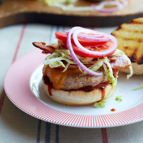 Food & Wine: Blue Ribbon Barbecue Chicken Cheeseburgers