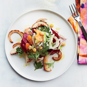 Food & Wine: Pan-Seared Octopus with Italian Vegetable Salad