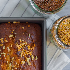 Food & Wine: Banana-Walnut Bread with Flax