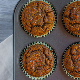 Food & Wine: Carrot-Flax Muffins