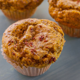 Food & Wine: Lemon-Poppy Flax Seed Muffins