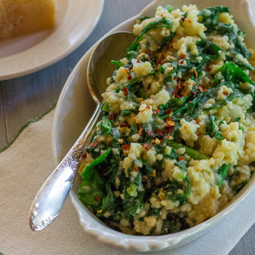 Food & Wine: Millet with Broccoli Rabe and Parmigiano