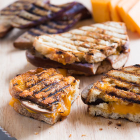 Food & Wine: Eggplant Grilled Cheese Sandwich