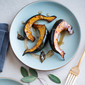 Food & Wine: Roasted Acorn Squash with Sage Brown Butter