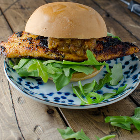 Food & Wine: Blackened Tilapia Burger