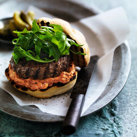 Food & Wine: BLT Burger with Garlicky Mayonnaise