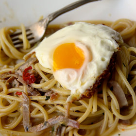 Food & Wine: Spaghetti Carbonara