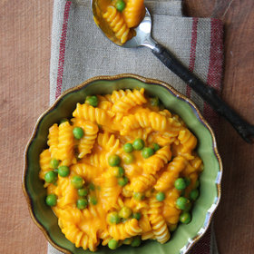 Food & Wine: Carrots and Peas Mac and Cheese
