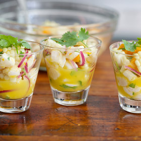 Food & Wine: Ceviche with Corn and Sweet Potatoes