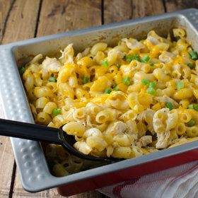 Food & Wine: Cheesy Macaroni Chicken Casserole