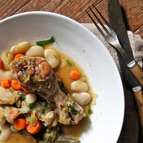 Food & Wine: Chicken and White Bean Cassoulet