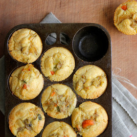 Food & Wine: Chicken Pot Pie Cornbread Muffins