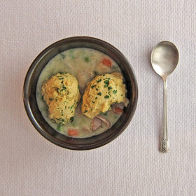 Food & Wine: Chicken with Herb Dumplings