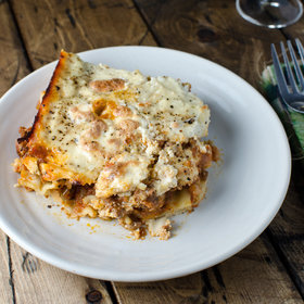 Food & Wine: Chorizo-and-Goat Cheese Lasagna