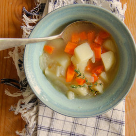 Food & Wine: Chunky Vegan Potato Soup