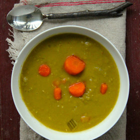 Food & Wine: Chunky Vegan Split Pea Soup