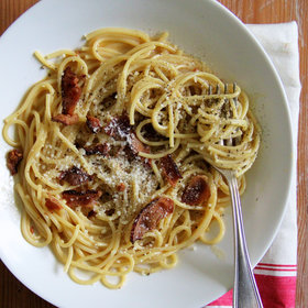 Food & Wine: Classic Spaghetti Carbonara