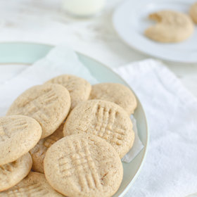 Food & Wine: Coconut Flour Peanut Butter Cookies