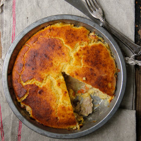 Food & Wine: Cornbread Chicken Pot Pie