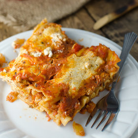 Food & Wine: Fast Vegetarian Lasagna