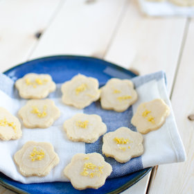 Food & Wine: Gluten-Free Lemon and Coconut Flour Cookies